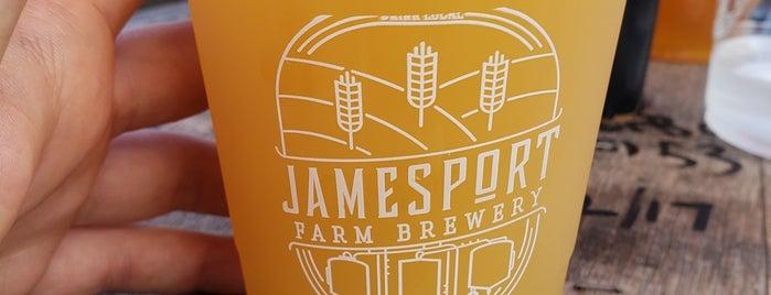 Jamesport Farm Brewery is one of Lugares favoritos de Swen.