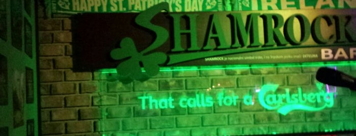 Shamrock is one of Novi Sad.