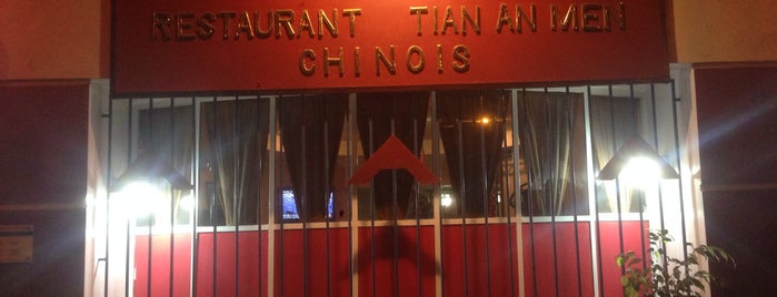 Restaurant Tian An Men Chinois is one of Nidalさんの保存済みスポット.