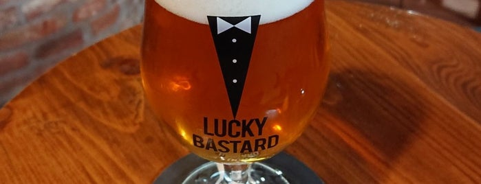 Lucky Bastard Beerhouse is one of Craft Beer Europe.