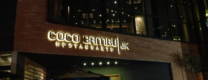 Coco Bambu is one of Restaurantes.