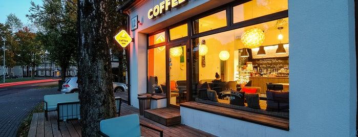 Caffeine Druskininkai is one of Lukas'ın Beğendiği Mekanlar.