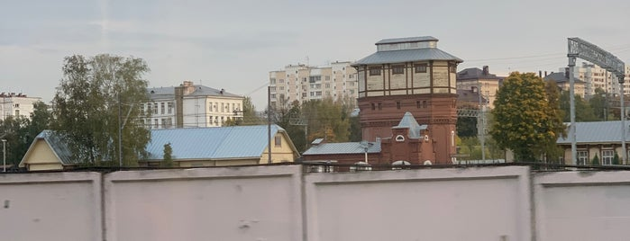 Музейно-производственный комплекс паровозного депо «Подмосковная» is one of Locais salvos de Ksu.