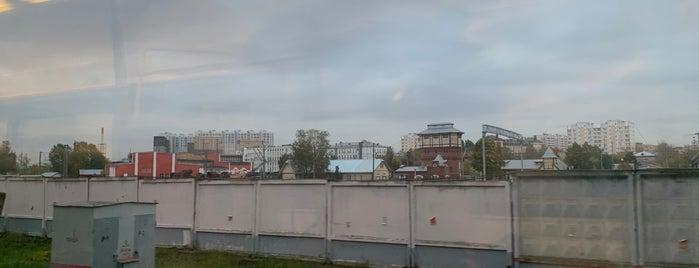 Музейно-производственный комплекс паровозного депо «Подмосковная» is one of Lieux sauvegardés par Ksu.