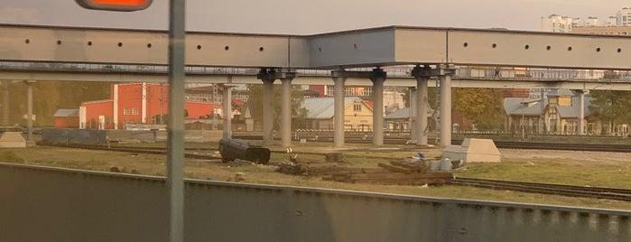 Музейно-производственный комплекс паровозного депо «Подмосковная» is one of Ф.