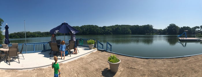Bradys Pond is one of Panoramic View.
