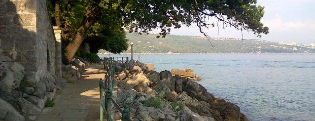 Lungo Mare: Opatija - Volosko is one of Posti che sono piaciuti a Сергей.
