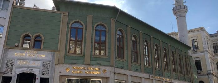 Cezeri Kasım Paşa Camii is one of 1-Fatih to Do List | Spiritüel Merkezler.