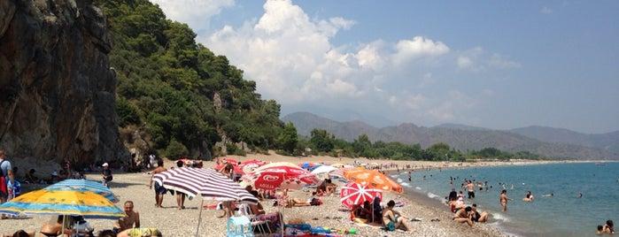 Olympos Plajı is one of Posti che sono piaciuti a Burak.