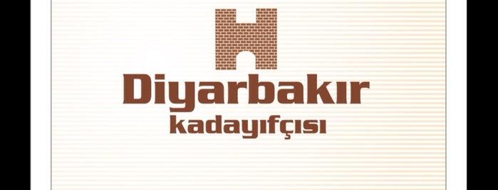 Diyarbakır Kadayıfçısı Hüseyin Usta is one of Gaziantep-Urfa-Mardin.