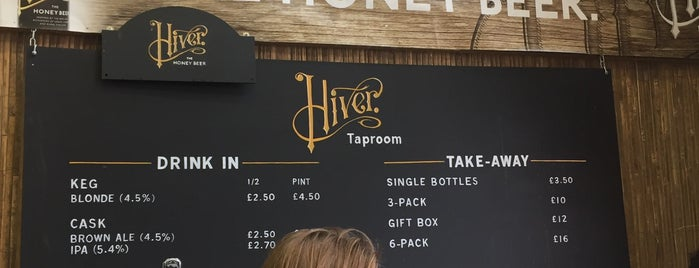 Hiver Beers and Taproom is one of Brewerys.