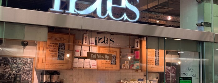 Notes is one of Speciality Coffee Shops Part 3 (London).