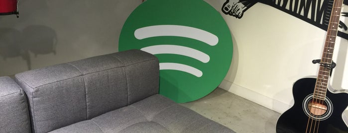 Spotify Brasil is one of Spotify spots  #lifeatSpotify.