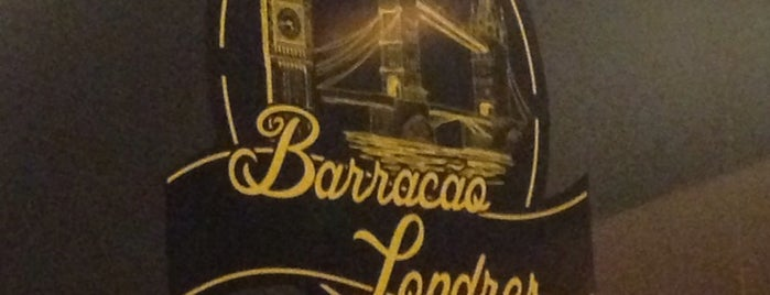 Barracão Londres Bar is one of Fabio: сохраненные места.