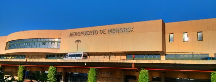 Aeroport de Menorca (MAH) is one of Let's Go To.