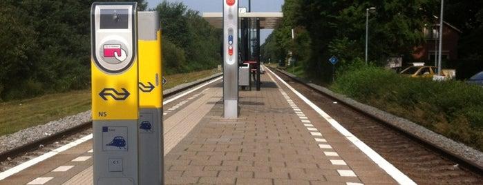 Station Heino is one of Friesland & Overijssel.