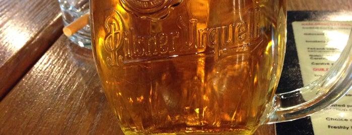 Pilsner Urquell Original Restaurant is one of Posti che sono piaciuti a özgün.