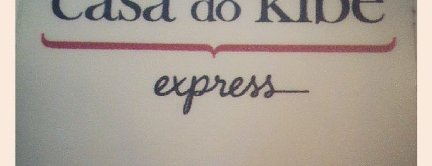 Casa do Kibe Express is one of Lugares favoritos de 𝔄𝔩𝔢 𝔙𝔦𝔢𝔦𝔯𝔞.