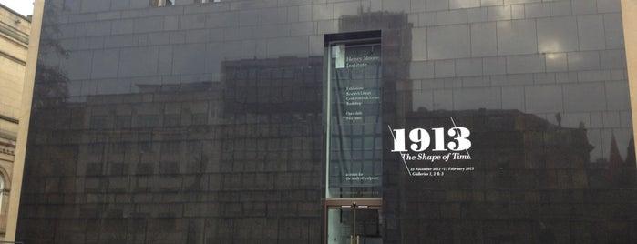 Henry Moore Institute is one of YKSHRE.