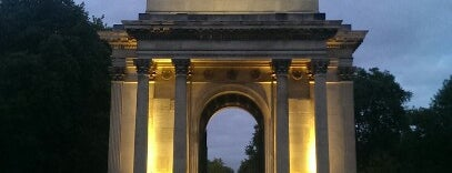 Wellington Arch is one of London, UK.