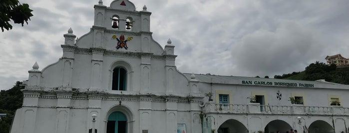 San Carlos Borromeo Church & Convent is one of Spoiler babe. ❤️️.