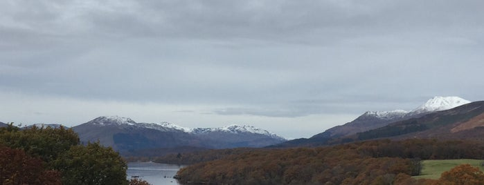 Loch Lomond & The Trossachs National Park is one of Scotland.