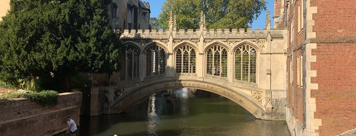 Bridge of Sighs is one of Cambridge.