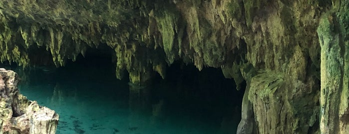 Cenotes Sac Actun is one of tulum.