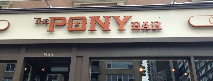 The Pony Bar is one of new york.