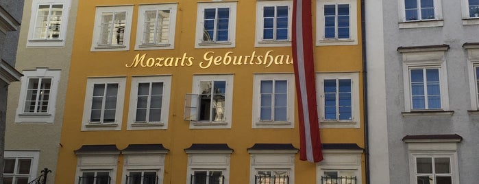 Mozarts Geburtshaus is one of SALZBURG SEE&DO&EAT&DRINK.