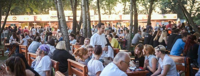 Beer Garden is one of Craft Beers of Serbia.