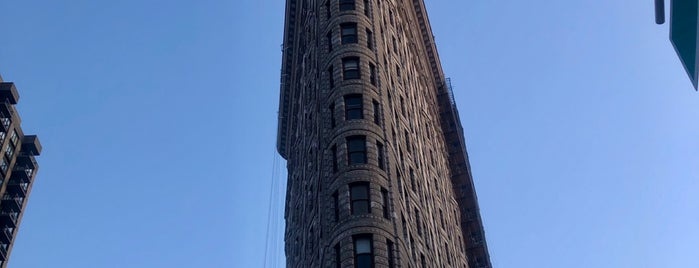 Flatiron Building is one of Historic NYC Landmarks.