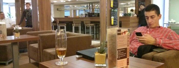 Telekom Hotel Lounge is one of Tempat yang Disukai Adam.