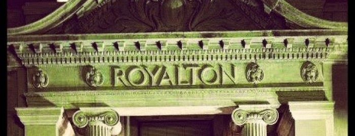 Royalton Hotel is one of Bars.