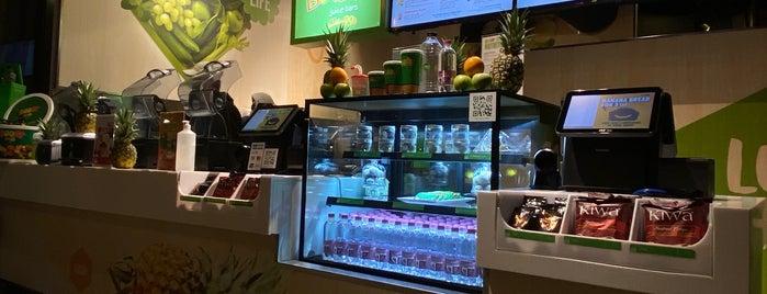 Boost Juice Bars is one of Lieux sauvegardés par Queen.