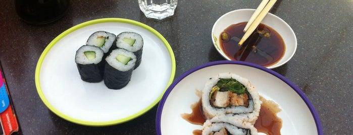 YO! Sushi is one of Lieux sauvegardés par 🌸Noodle.