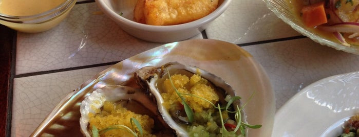 Ceviche is one of New London Openings 2015.