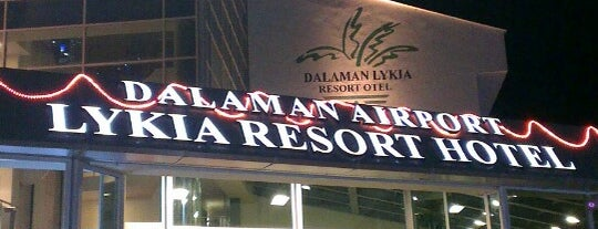 Dalaman Airport Lykia Resort Hotel is one of สถานที่ที่ Tanj' H. ถูกใจ.