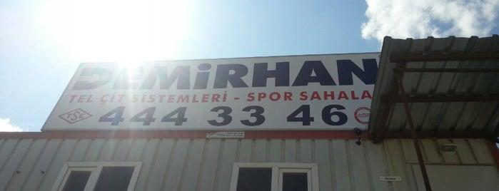 DEMIRHAN TEL CİT SPOR SAHALARI is one of Ramazan'ın Beğendiği Mekanlar.