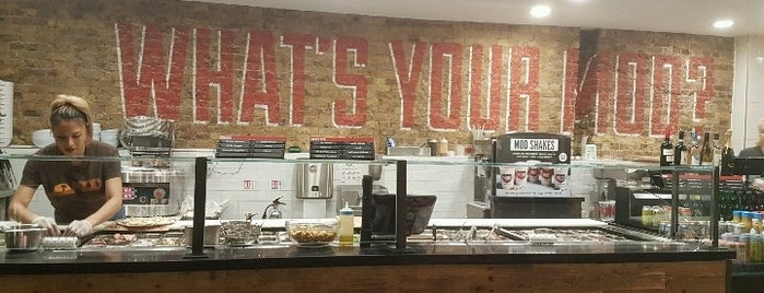 Mod Pizza is one of London - To Eat & Drink.