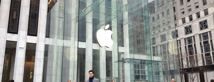 Apple Fifth Avenue is one of All-time favorites in United States (Part 2).