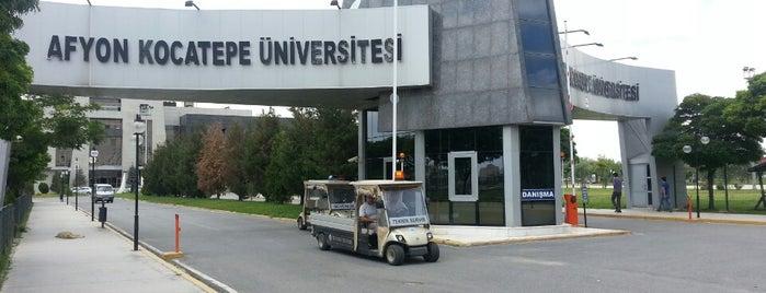Afyon Kocatepe Üniversitesi is one of Orte, die Ekrem gefallen.