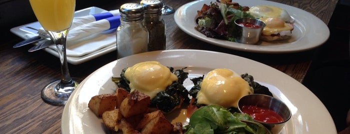 The Sixth Ward is one of Brunch with unlimited drinks.