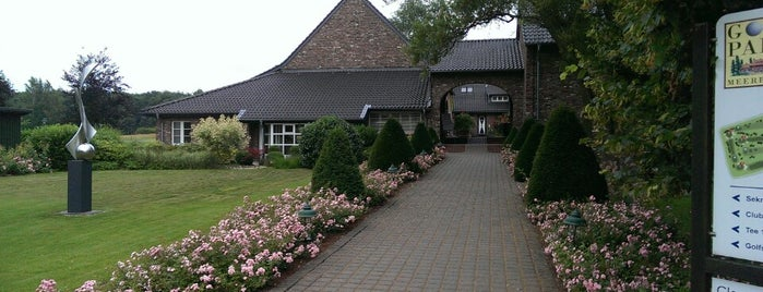 Golfclub Meerbusch is one of Locais salvos de Peddi.