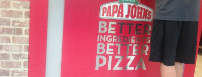 Papa John's Pizza is one of Lugares favoritos de Stephen.