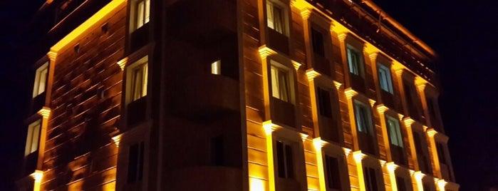 Paradise Çaycuma Hotel is one of สถานที่ที่บันทึกไว้ของ Nadir.