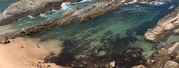 Praia dos Alteirinhos is one of Lieux sauvegardés par MENU.