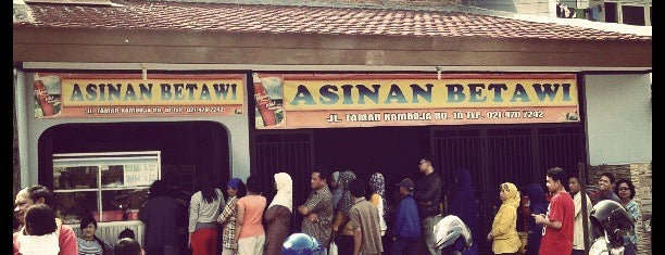 Asinan Betawi Kamboja - Alm H. Mansyur is one of Rawamangun fav.Place.