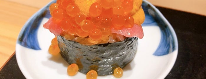 Sushi Rinda is one of Honeymoon in Japan Recommendations.