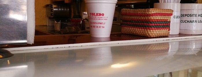 Cafe Toledo is one of Posti che sono piaciuti a Airy.